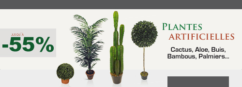 Plantes artificielles ventes privees plantes for Plantes artificielles soldes